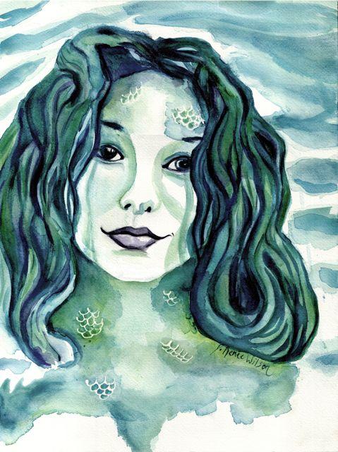 Maybe I'm A Mermaid