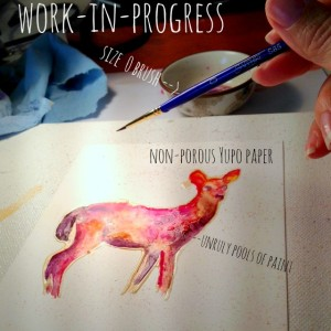 Fawn Rising work-in-progress
