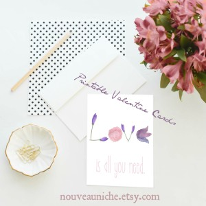 Printable pretties for spreading the love.