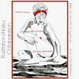 "D. Renée Wilson, 8""x11""  Watercolor & Ink Haiku by Quirine ""Q"" Dongelmans"